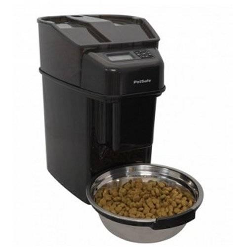 Distributeur nourriture chien automatique