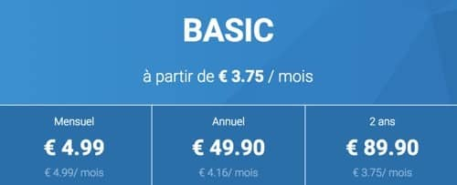 Abonnement Tractive Basic
