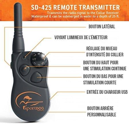 telecommande-sd425-sportdog-trainer