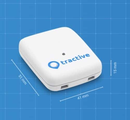 Dimensions Tractive GPS