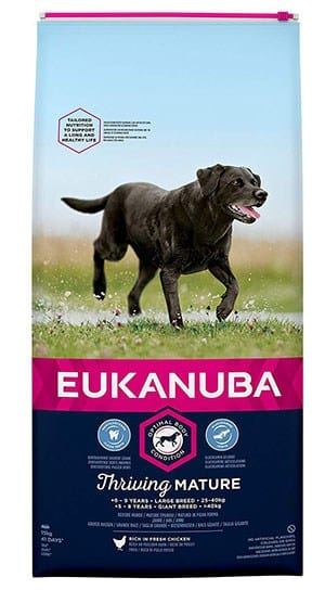 Croquettes Eukanuba pour chien senior