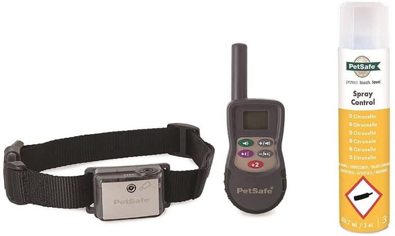 Petsafe SPT-275 | Notre avis sur ce collier de dressage à spray (longue portée)
